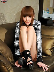 Super hot newhalf masturbating