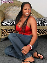 Super hot ebony tranny