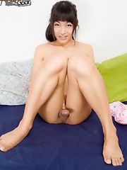 19 year old June is from Bangkok. Always smiling, always happy, great attitude,   a lot of energy, extremely passable even without make up, flawless s